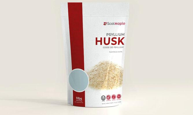 ScotMaple 100% Whole Psyllium Husk Powder - Psyllium Flour - Psyllium Powder - Psyllium Fibre - ScotMaple Foods - Providing Healthier Food Alternatives - Canada - USA - United Kingdom